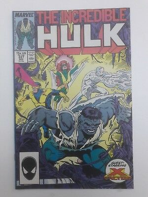 THE INCREDIBLE HULK #337, 1987, FN/VF 7.0, Peter David, Todd McFarlane, X-Factor