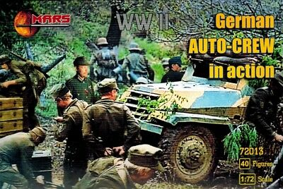 Mars 72013 - German Auto Crew in Action  - 1:72