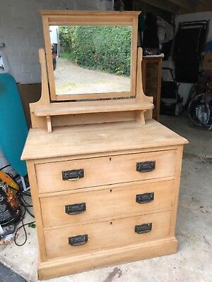 Antique Pine Dresser Unit