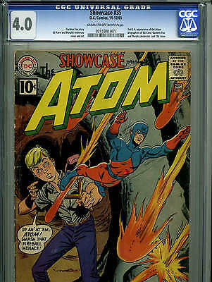 Showcase #35 - December, 1961 - CGC 4.0 - KEY ISSUE - (2nd Atom appearance)