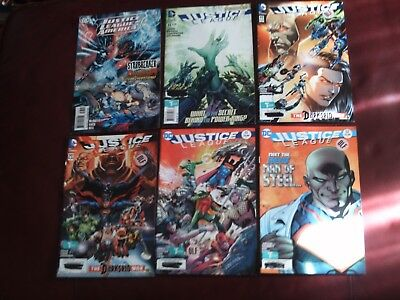 Justice League Comic Book Lot of 6