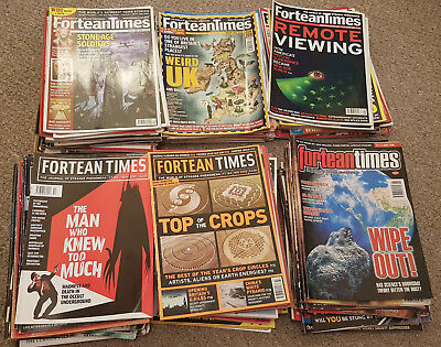 Collection of Fortean Times Magazines 118 Issues Mostly from June 98 to Oct 2008