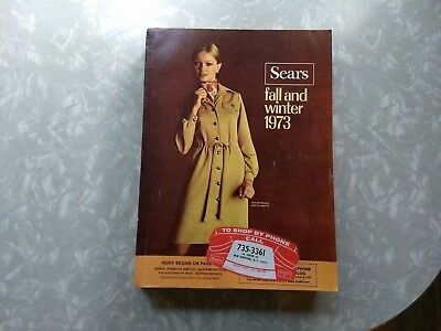 Sears Fall and Winter 1973 Catalog Very Good Complete Condition
