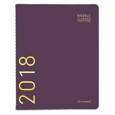 AT-A-GLANCE Weekly Monthly Planner - 2018 - 70940X59, Purple