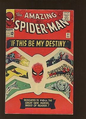 Amazing Spider-Man 31 VG+ 4.5 * 1 Book Lot * 1st Gwen Stacy, Harry Osborn & More
