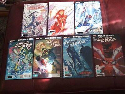 The Amazing Spider-Man Comic Book Lot of 7