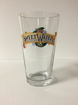 SweetWater Brewing Company - Banner Logo - 16 oz Pint Glass - 1 Pack
