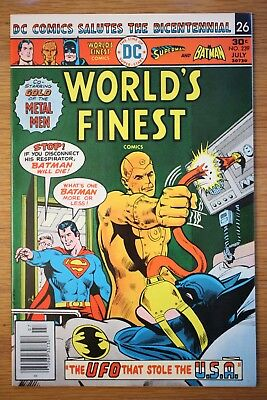 World's Finest #239 *VF+ Very Fine Plus* (DC 1976) Batman, Superman, UFO
