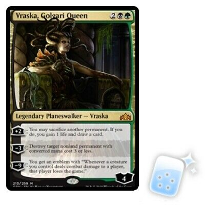 VRASKA, GOLGARI QUEEN Guilds Of Ravnica GRN Planeswalker Magic MTG MINT CARD