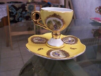 Vintage Royal Vienna Romantic Tea Cup & Saucer
