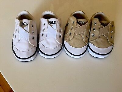 Polo Ralph Lauren Baby Shoes Near New Worn Once