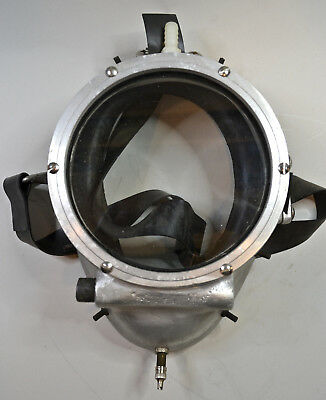 Unusual Metal Full-Face, Air-Supplied Diving Mask, or ?????