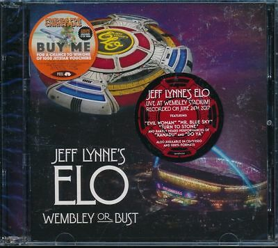 Jeff Lynne's ELO Electric Light Orchestra Wembley or Bust 2-disc CD