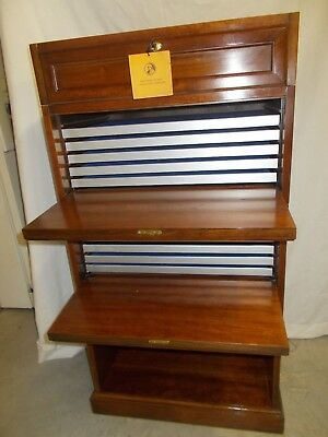Franklin Mint Collectors Coin Cabinet, 12 Trays, Nice-Vintage