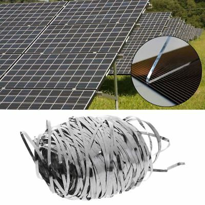 Solar Bus Tabbing Welding Wire PV Ribbons For DIY Solar Panel Cells 1.8x0.16mm