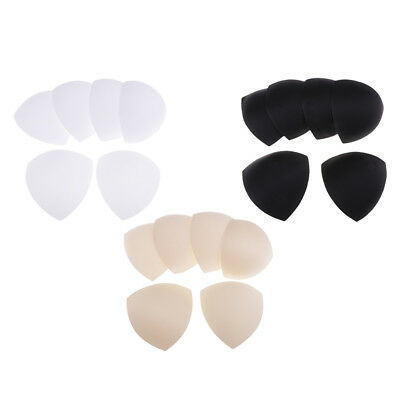 9 Pairs Womens Triangle Removable Smart Cups Bra Inserts Pads For Swimwear