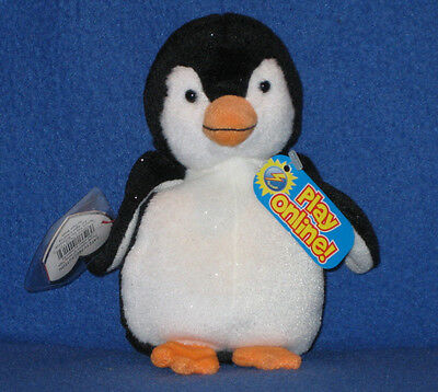 TY CHILL the PENGUIN -  2.0 BEANIE BABY - MINT with MINT TAG -NEW w /UNUSED CODE