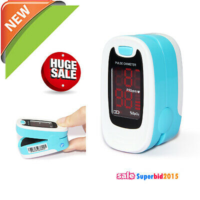 CONTEC Fingertip Pulse Oximeter Blood Oxygen SpO2 Oximetry Heart Rate Monitor M