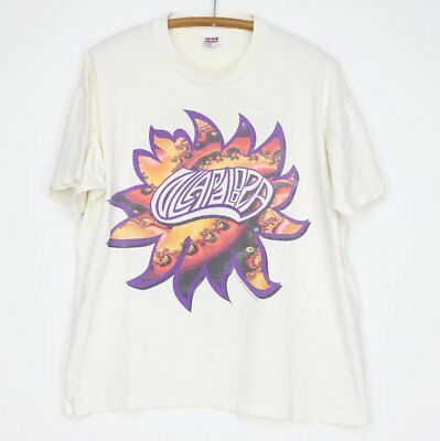 Lollapalooza Shirt Vintage shirt 1995 Sonic Youth Cypress Hill Pavement 90s Elas