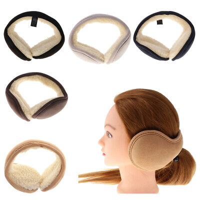 Fordable Ear Muffs Warmers for Winter Sherpa Ear Covers for Women Men