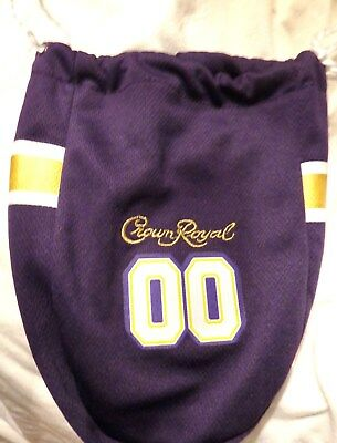 Crown Royal - Special Edition Football Gameday Jersey Bag 750 ml bottle - Purple