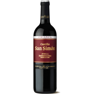 RRP $149! Spanish San Simon Tempranillo Crianza Red Wine 2012 (6x750ml)