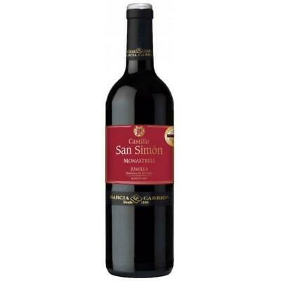 RRP $275 Spanish San Simon Monastrell Red Wine 2012 (12x750ml) Free Shipping!