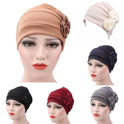 Women Hijab Turban Hat Lady Cancer Chemo Hair Loss Cap Head Scarf Wrap Cover HOT