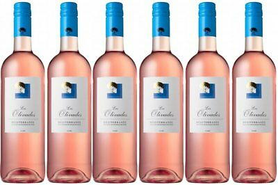 RRP $139 French Les Olivades Rosé Wine 2015 (6 x750ml) Free Shipping!