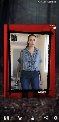 Topps the walking dead card trader alicia 14cc clarkes insert (price is for 1)