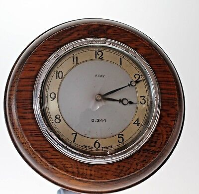 Very Rare Antique G.w.r. Pork Pie Railway Clock Circa 1910
