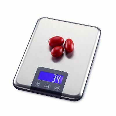 15kg*1g Kitchen Touch Stainless Steel Electronic Bench Big Digital Scale