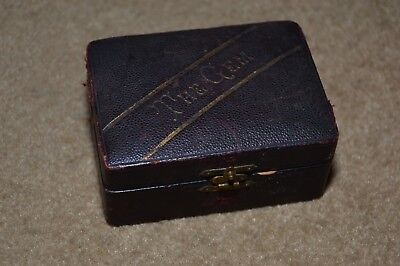 Vintage KAMPFE'S SAFETY RAZOR in The Gem presentation box patent 1880 & 1887