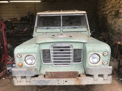 Landrover Series 3 - vintage for restoration