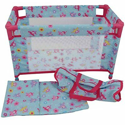 Dolls World 8201 Deluxe Travel Cot