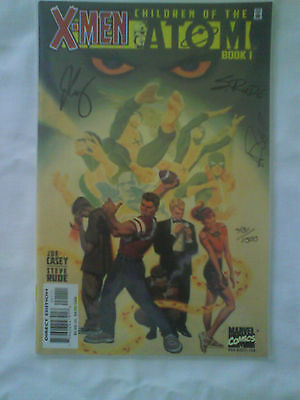 """X MEN"" Collectors Comic Book Entitled 'Children Of The Atom' Book 1"