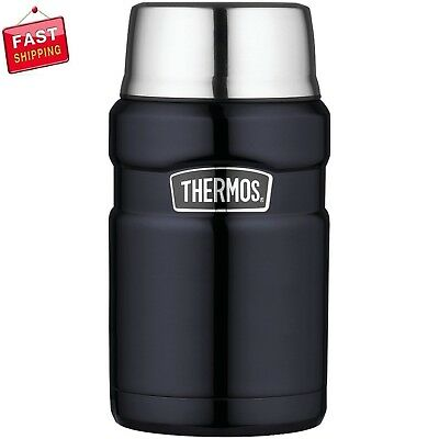Thermos Stainless King 24 Ounce Food Jar, Midnight Blue Durable stainless steel