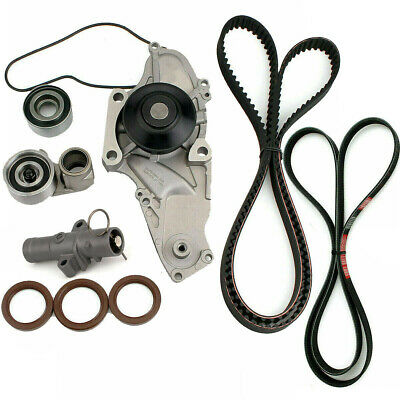 Timing Belt V-Belt Kit Water Pump for 04-14 Honda Pilot Odyssey Acura 3.5L 3.7L