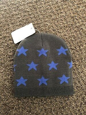 Mothercare Boys Woolly Beanie Winter Hat Upto 3 Years Size S M BNWT Grey 57433cbb51d7