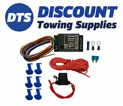 Motorhome Towbar Smart 7 Way Bypass Relay Kit For Cambus & Multiplex Wiring