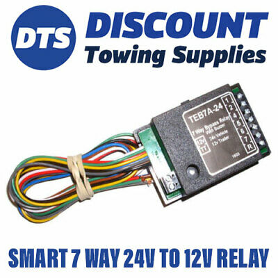 Universal 24V Vehicle to 12V Trailer Dropper Relay to Suit Commercial Vehicles
