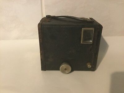 Vintage Kodak Six 20 Box Brownie C Film Camera