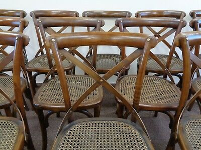 12 French Bentwood Style Dining Chairs