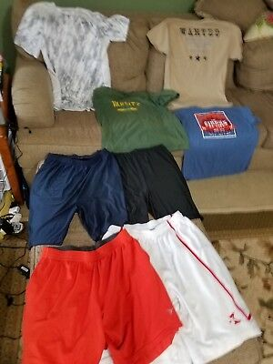Mens Size Large Clothes Mixed Lot Of 9