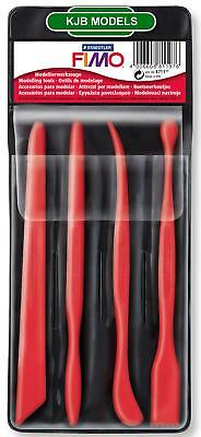 FIMO Modelling Carver Tools - Choose - 1 Single Tool Or Set Of 4 Tools In wallet
