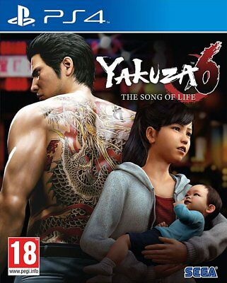 Yakuza 6 The Song of Life (PS4) BRAND NEW AND SEALED - IN STOCK - QUICK DISPATCH