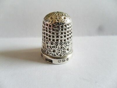 Solid Silver 925 Thimble 1894 Chester (Lot t2)