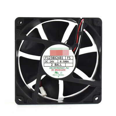 FOR MECHATRONICS F1238X24B1 24V 0 50A 120*120*38mm Inverter cooling fan 3pin