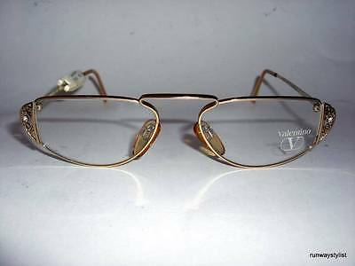 VALENTINO EYEGLASSES FRAME-MODEL V347-VINTAGE1990s-NEVER WORN-NEAR MINT
