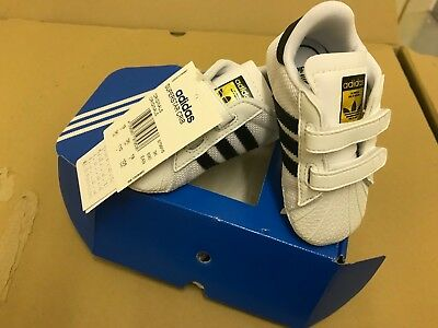 Baby Boys Adidas Superstar Crib ALL SIZES  BRAND NEW IN BOX EXCELLENT DESIGNER